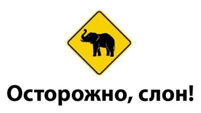 Осторожно, слон!