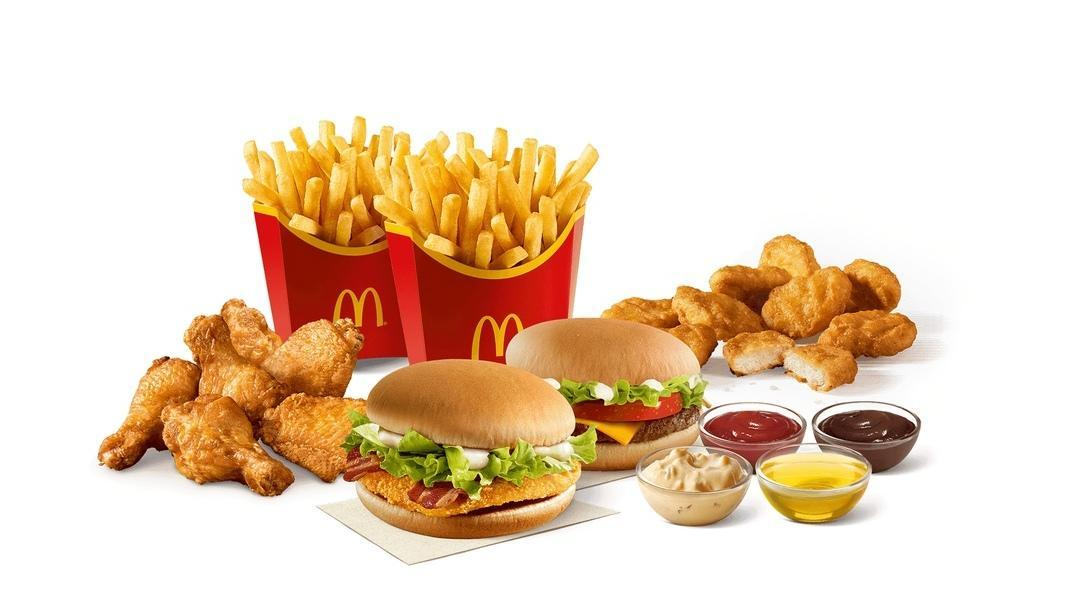 Еда из Макдональдс
