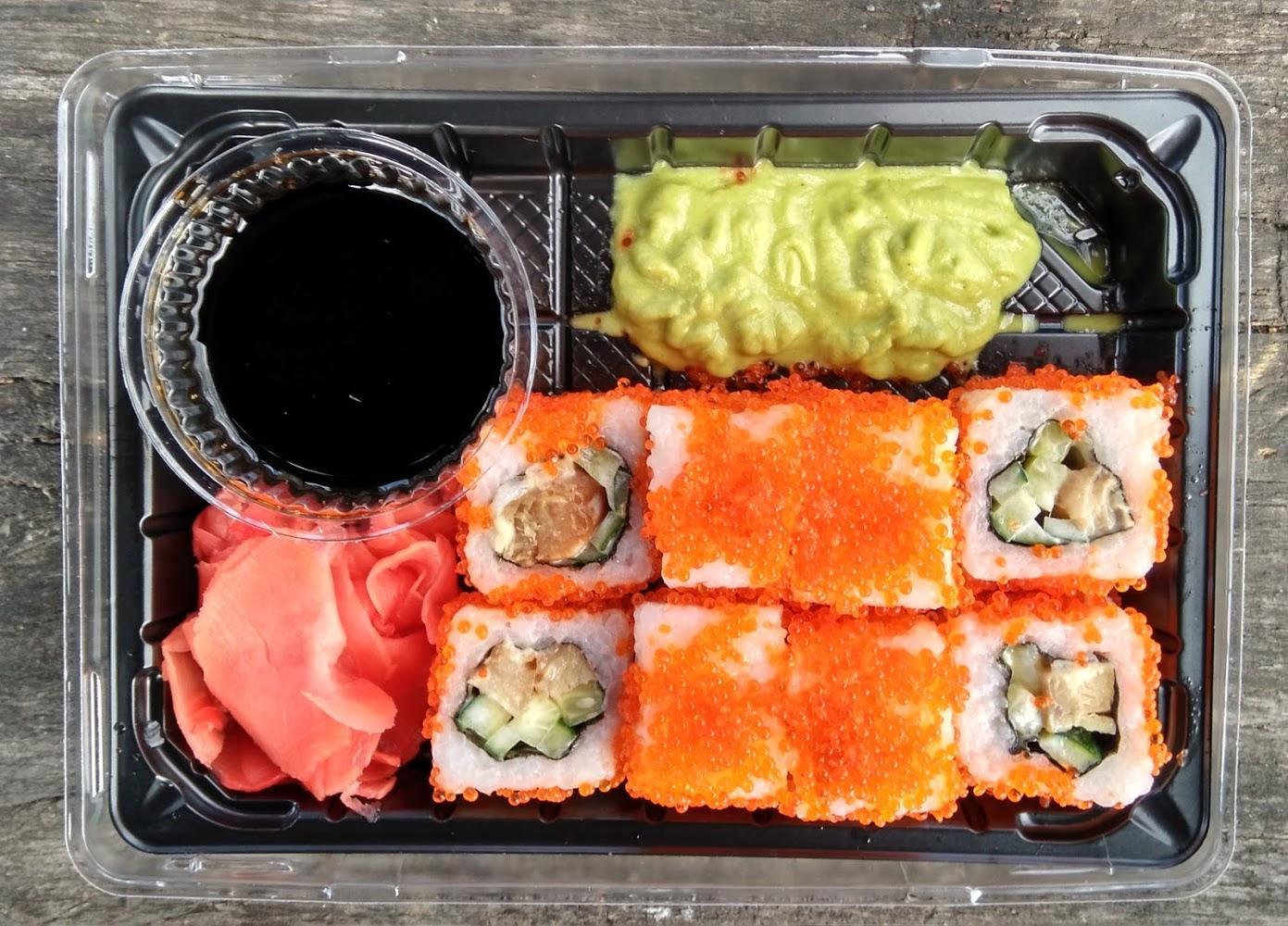 Побалуйте себя японскими блюдами