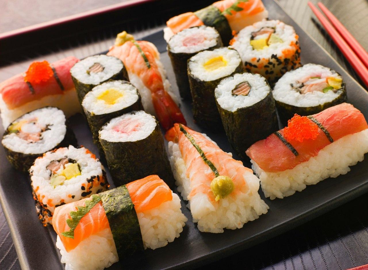В «Суши Шоп» можно заказать не только суши и роллы
