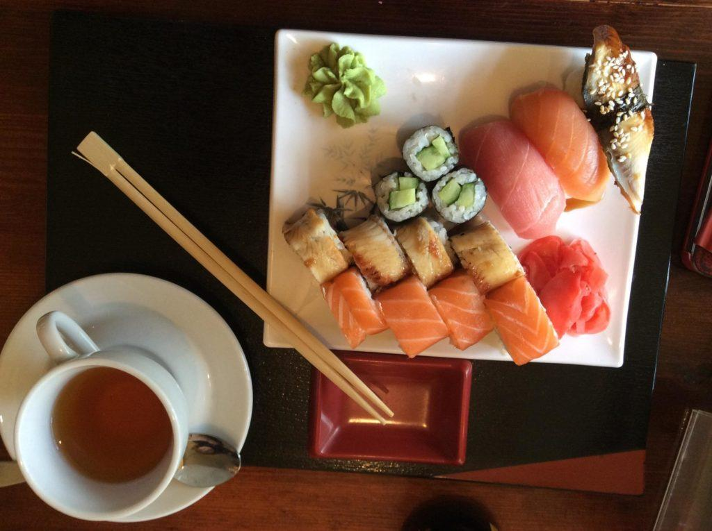 В «Гин-но Таки» можно заказать только классические японские блюда