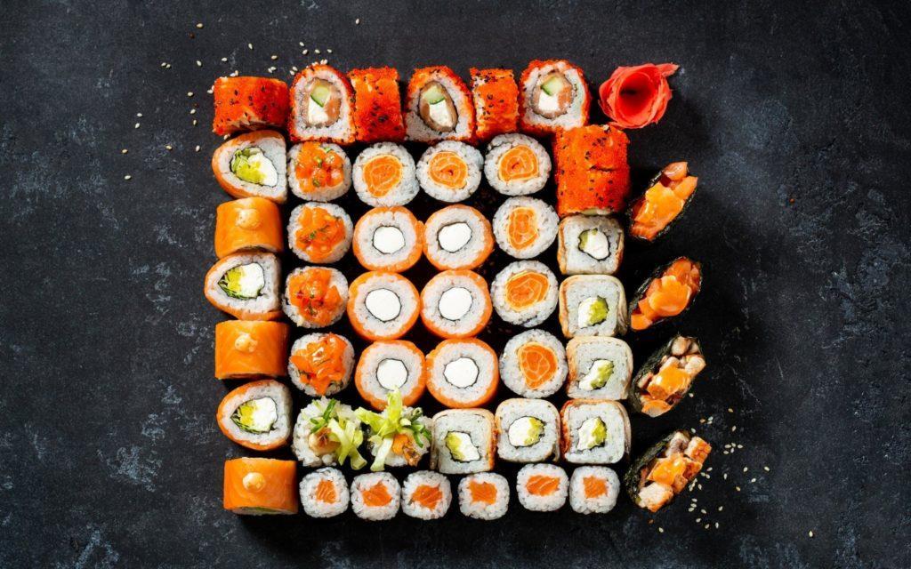 В ресторане «Планета суши» блюда готовят по авторским или традиционным рецептам
