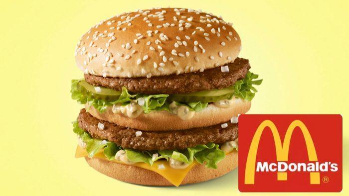 «Биг Мак» в McDonald's