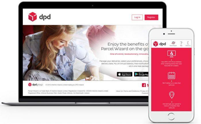 Мобильное приложение DPD