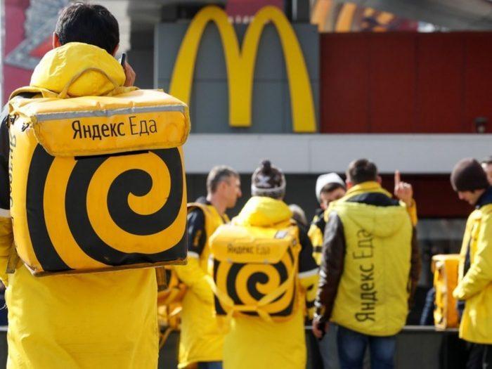 Яндекс.Еда работает с сотнями кафе и ресторанов