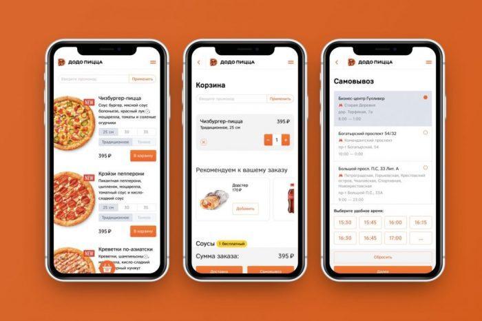 Заказать еду через приложение достаточно просто