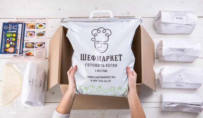 Доставка продуктов «ШефМаркет»