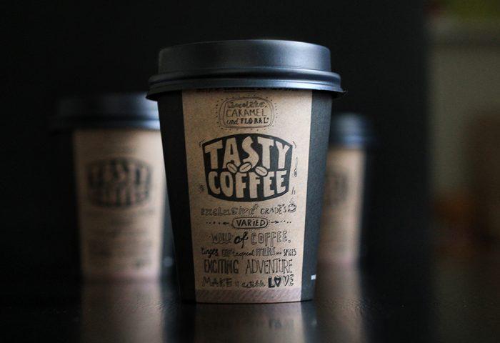 В Tasty Coffee можно заказать качественный кофе