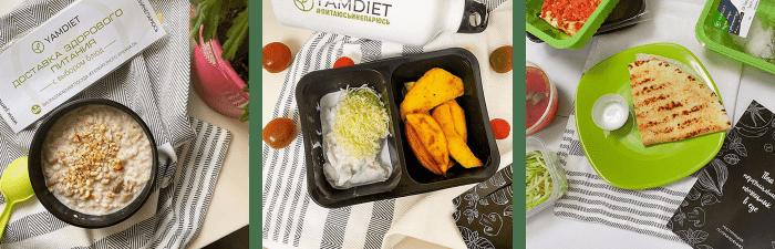 Здоровая еда из YamDiet