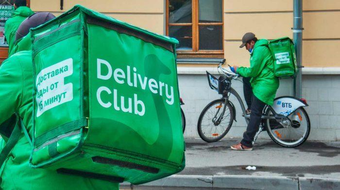 Курьеры Delivery Club