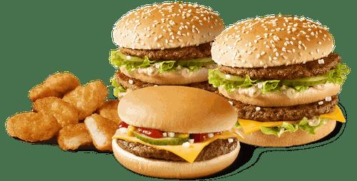 Доставка из «Макдоналдс» в сервисе Яндекс.Еда